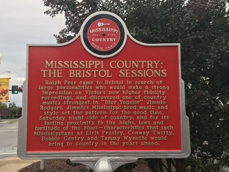 Mississippi Country: The Bristol Sessions Marker image. Click for full size.