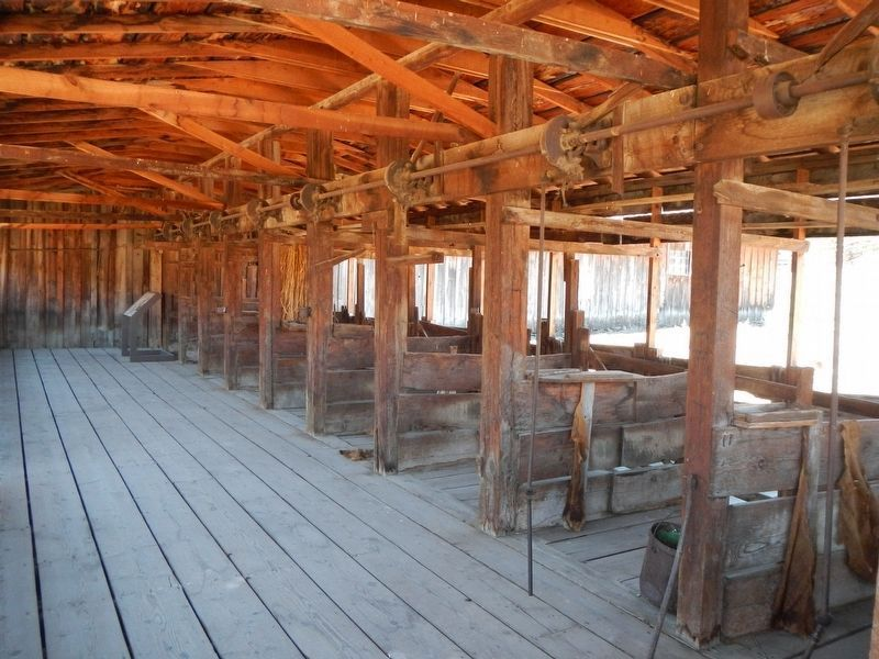 Shearing Shed and Shearing the Sheep Marker image. Click for full size.