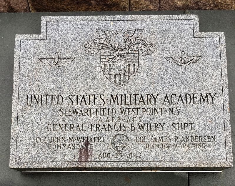 United States Military Academy Marker image. Click for full size.