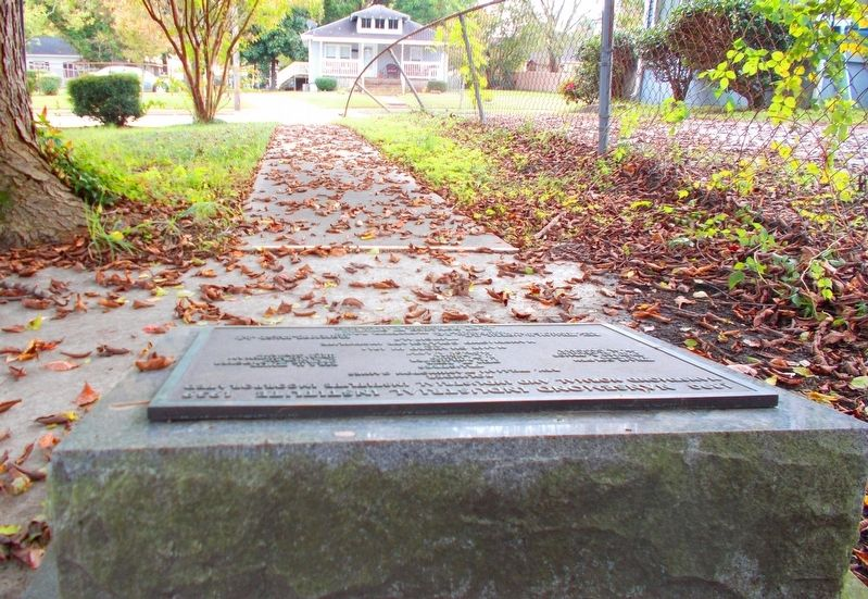 <b>Exhibit C</b> – Nansemond Industrial Institute marker site. image. Click for full size.