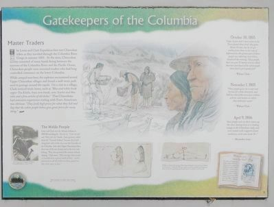 Gatekeepers of the Columbia Marker image. Click for full size.