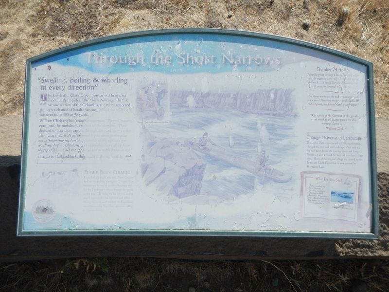 Through the Short Narrows Marker image. Click for full size.