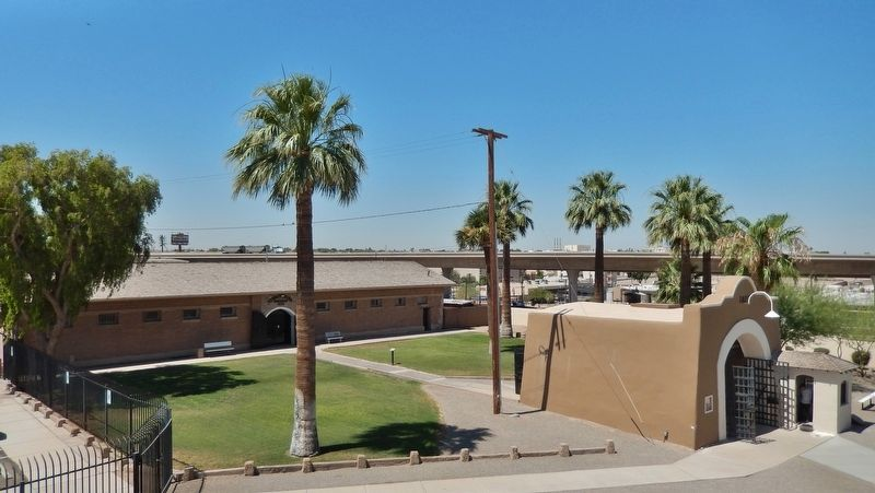Yuma Territorial Prison Museum Courtyard image. Click for full size.