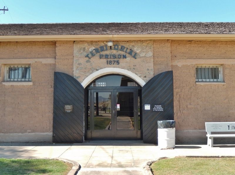 Yuma Territorial Prison Museum Entrance image. Click for full size.