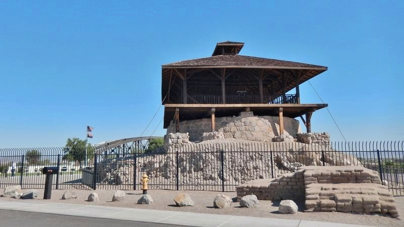 Yuma Territorial Prison Main Guard Tower image. Click for full size.