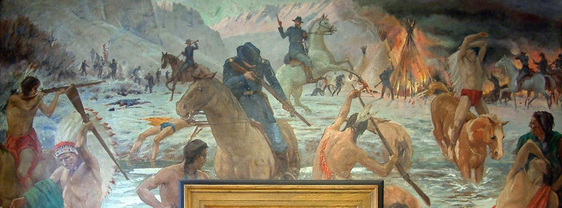 Bear River Massacre image. Click for full size.