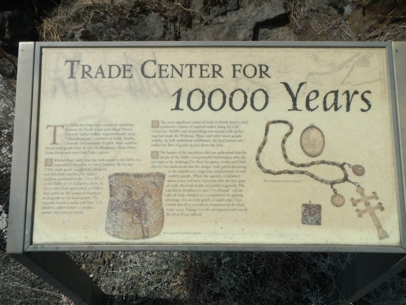 Trade Center for 10000 Years Marker image. Click for full size.