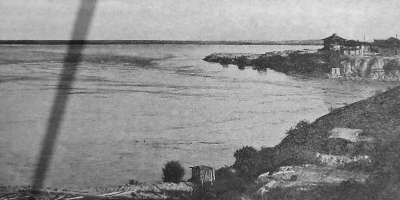 Marker detail: View from Indian Hill before Dams, 1905 image. Click for full size.