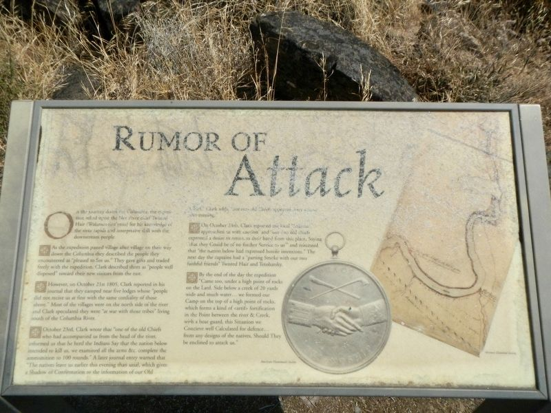 Rumor of Attack Marker image. Click for full size.