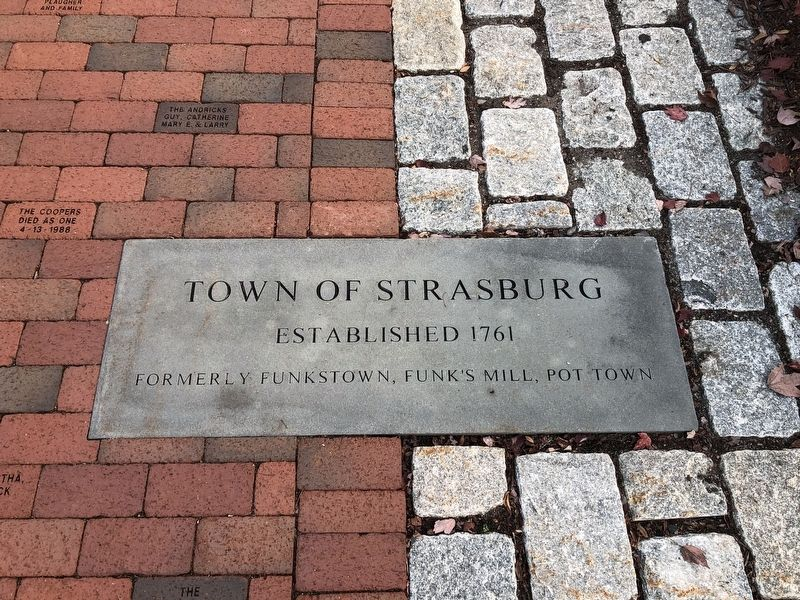 Town of Strasburg Marker image. Click for full size.