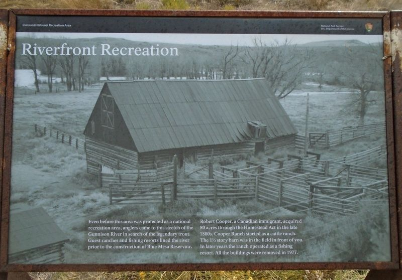 Riverfront Recreation Marker image. Click for full size.