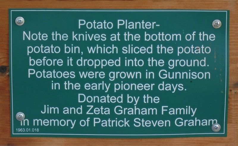 Potato Planter Marker image. Click for full size.