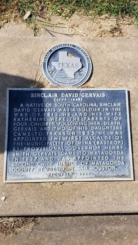 Sinclair David Gervais Marker image. Click for full size.