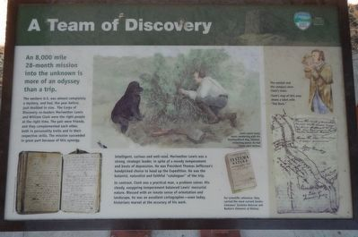 A Team of Discovery Marker image. Click for full size.