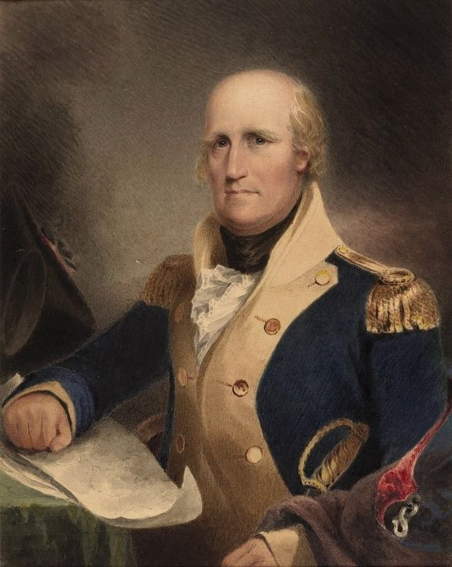 Gen. George Rogers Clark image. Click for full size.