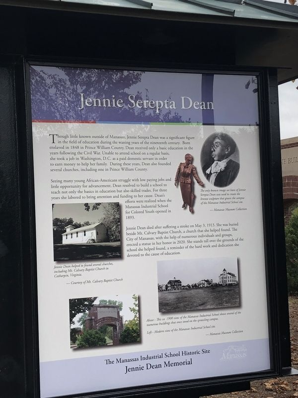 Jennie Serepta Dean Marker image. Click for full size.