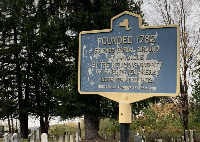 Founded 1782 Marker image. Click for full size.