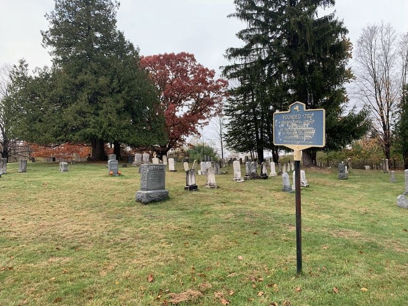 Cemetery and Marker image. Click for full size.