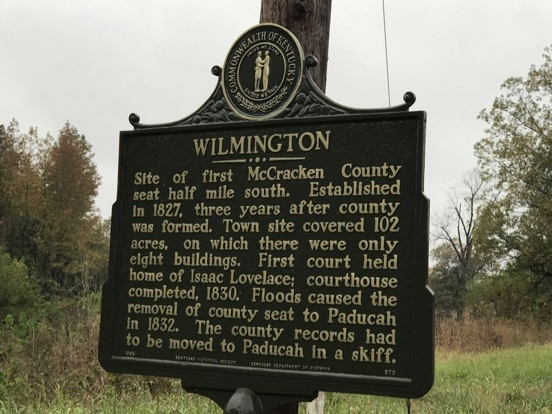 Wilmington Marker image. Click for full size.