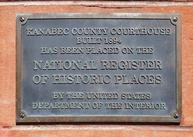 Kanabec County Courthouse Marker image. Click for full size.