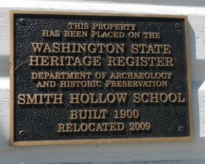Smith Hollow Schoolhouse image. Click for full size.