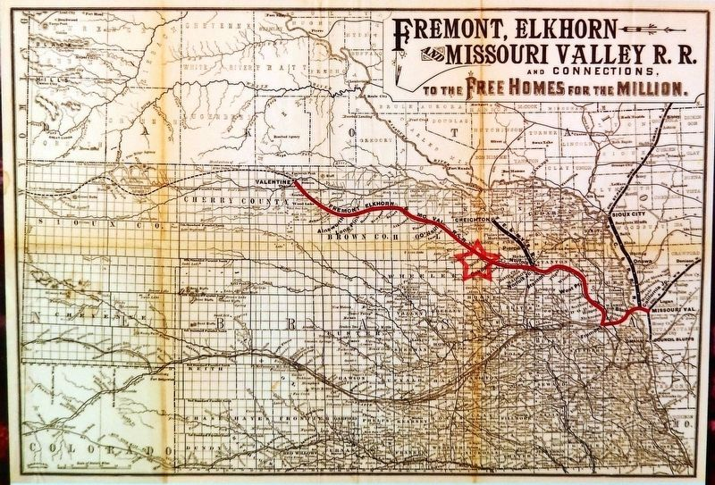 Marker detail: FE&MVRR Map image. Click for full size.