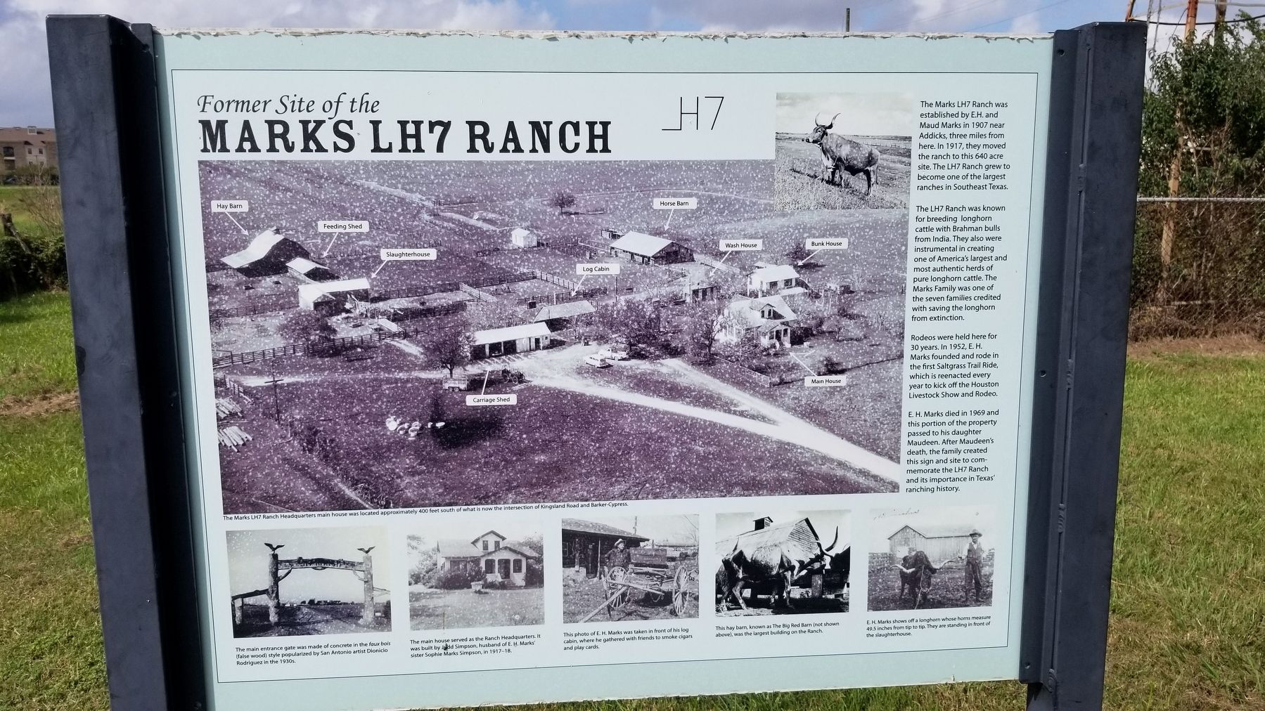 Former Site of the Marks LH7 Ranch image. Click for full size.