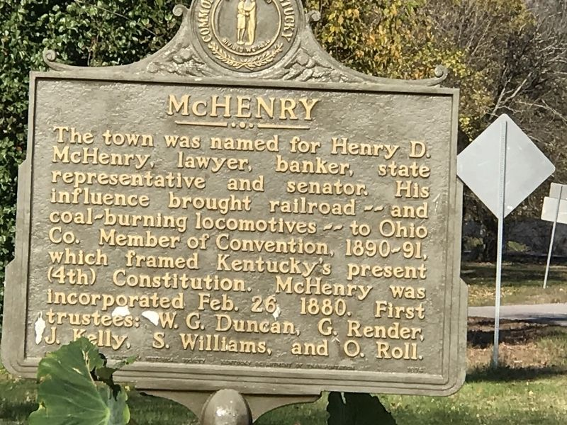 McHenry Marker image. Click for full size.