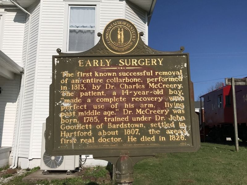 Early Surgery Marker image. Click for full size.
