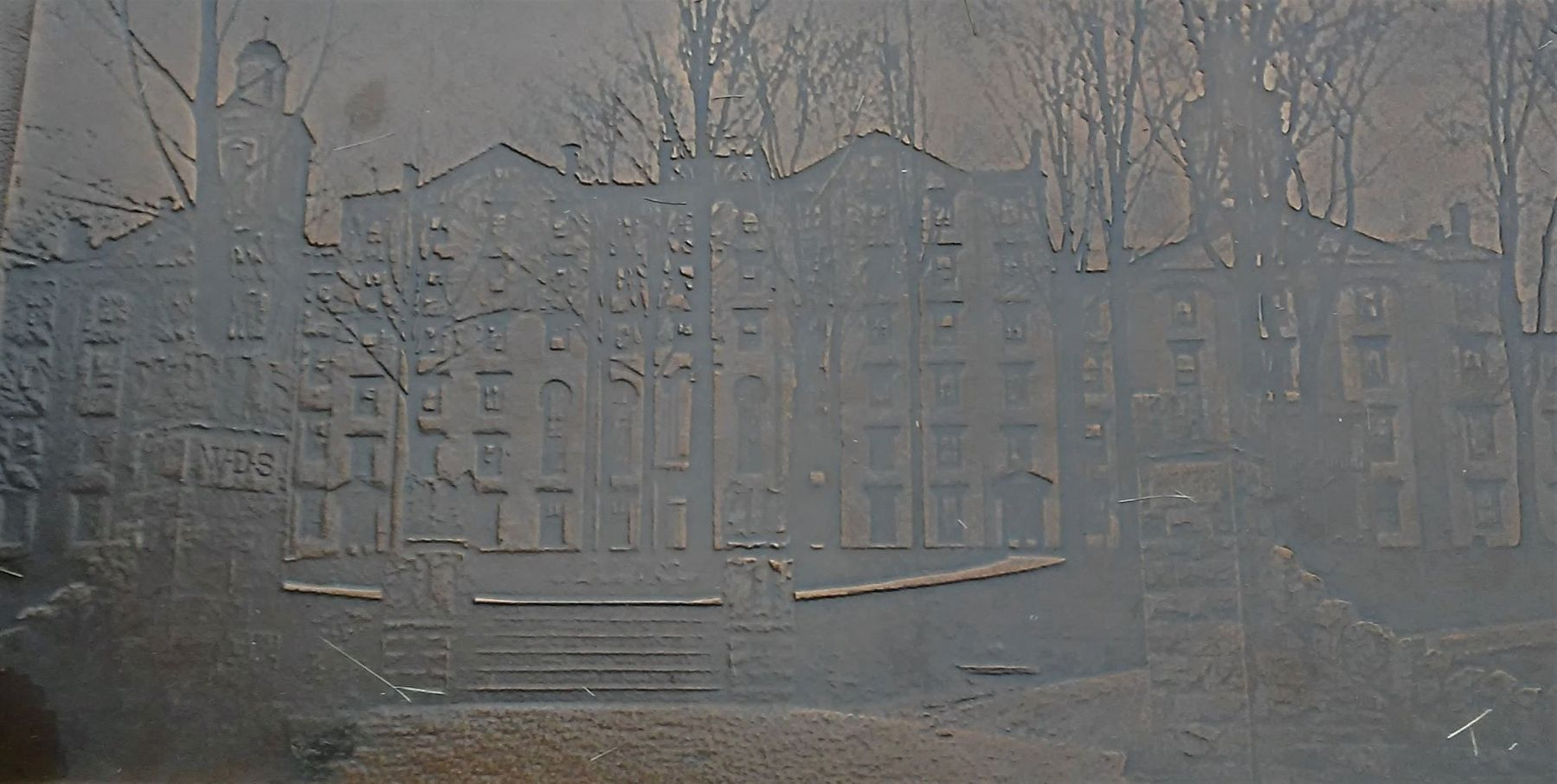 Old Main Image on Marker image. Click for full size.