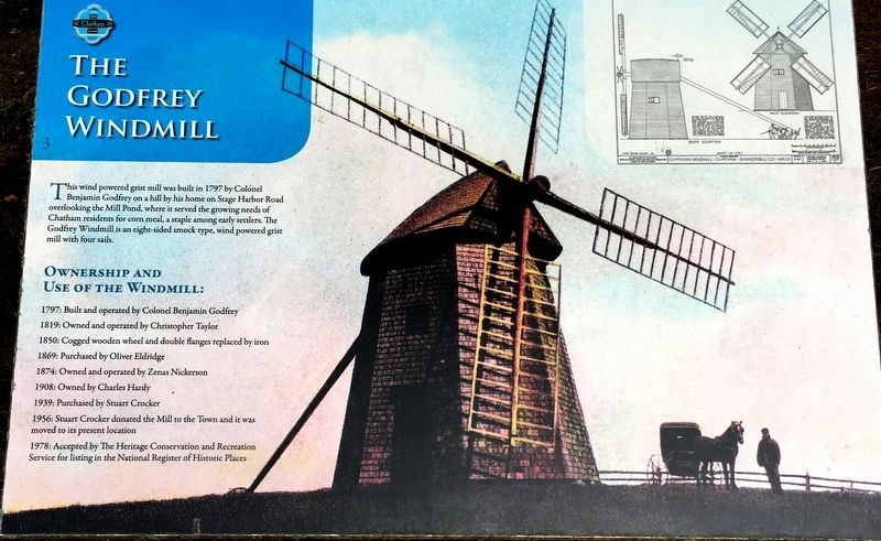 The Godfrey Windmill Marker image. Click for full size.