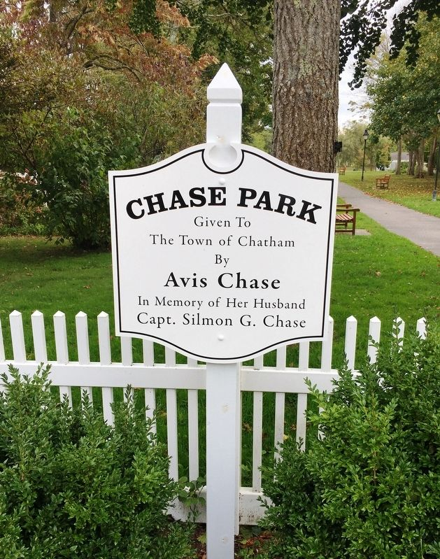 Chase Park Sign image. Click for full size.