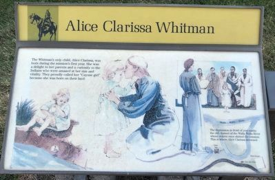 Alice Clarissa Whitman Marker image. Click for full size.