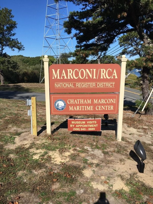Marconi/RCA Sign image. Click for full size.