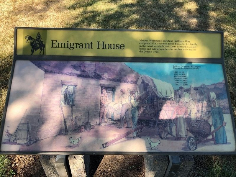 Emigrant House Marker image. Click for full size.
