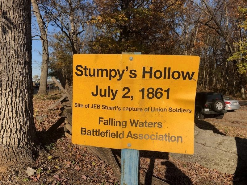 Stumpy's Hollow Marker image. Click for full size.