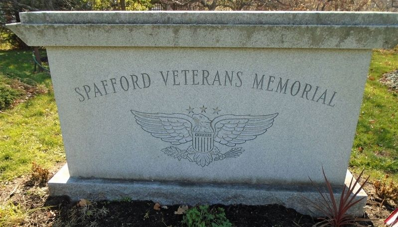 Spafford Veterans Memorial image. Click for full size.