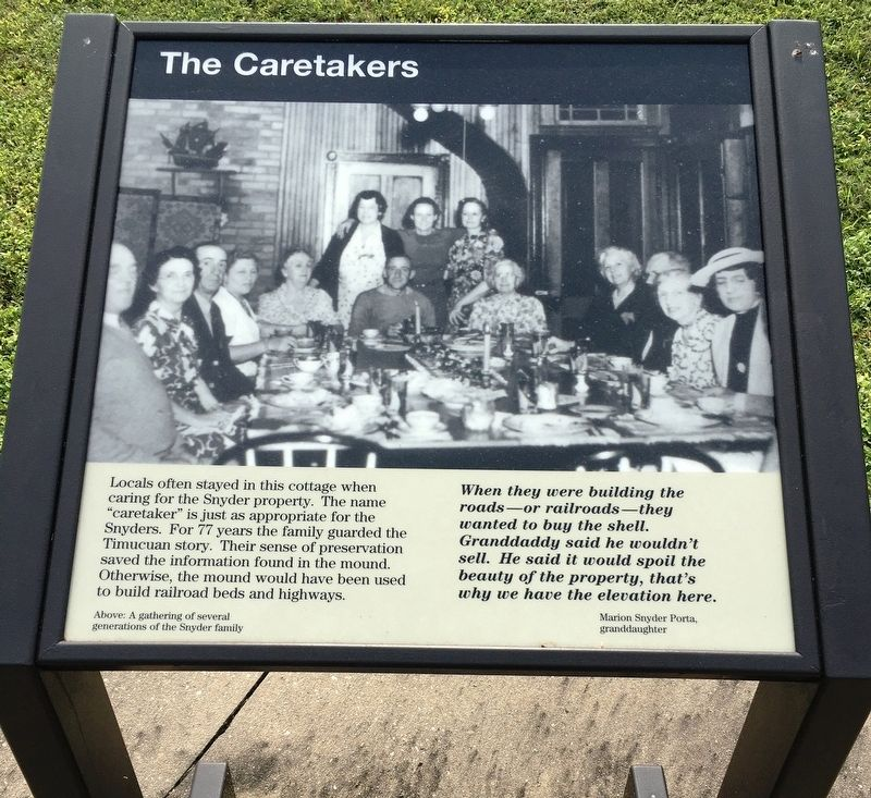 The Caretakers Marker image. Click for full size.