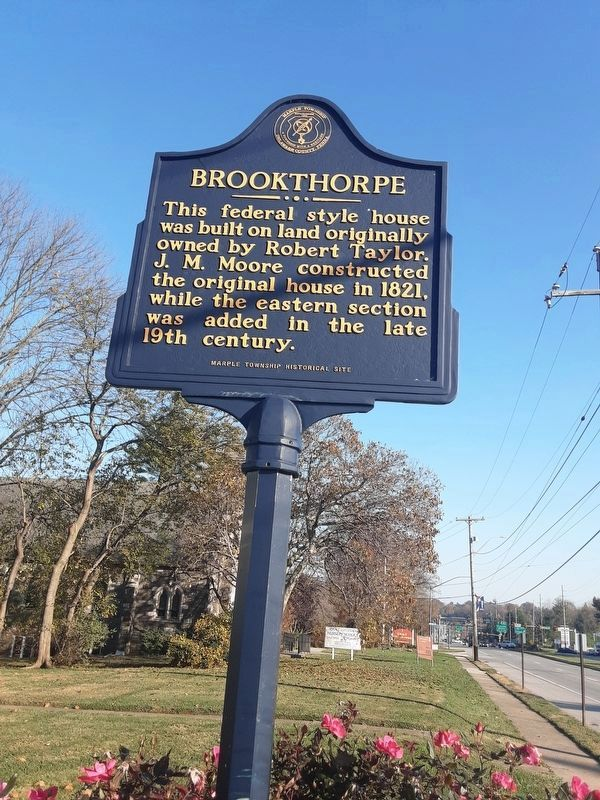Brookthorpe Marker image. Click for full size.
