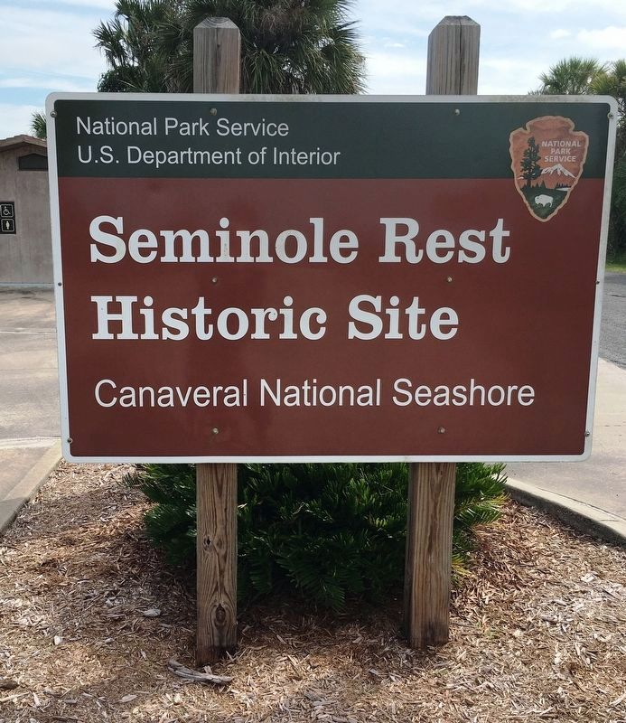 Seminole Rest Historic Site Sign image. Click for full size.