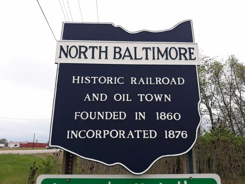 North Baltimore Marker image. Click for full size.