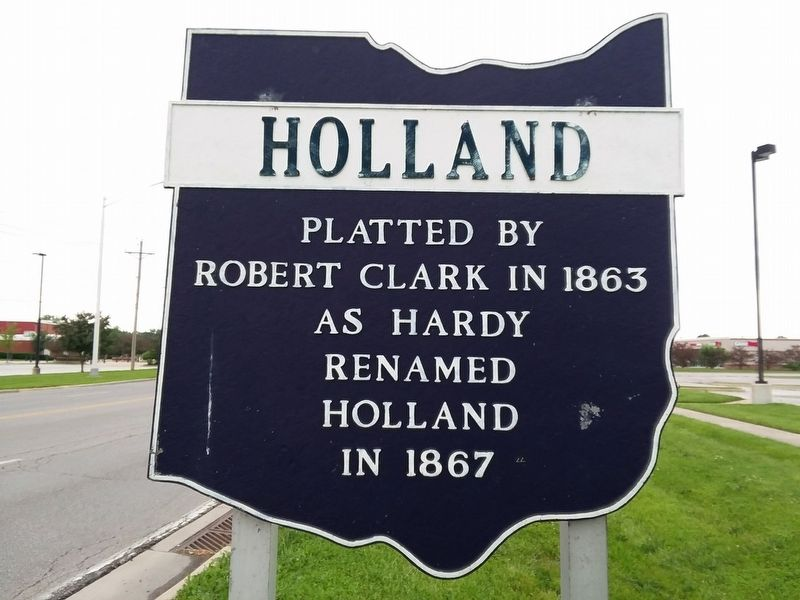 Holland Marker image. Click for full size.