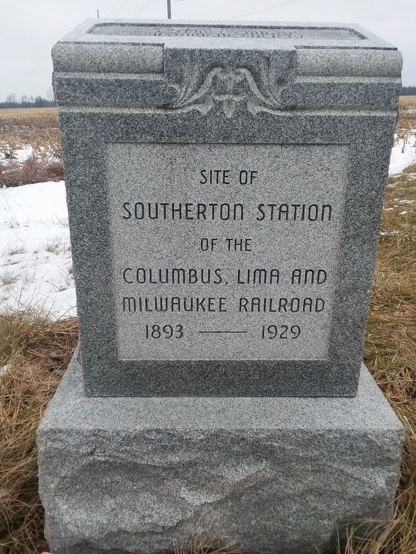 Site Of Southerton Station Marker image. Click for full size.