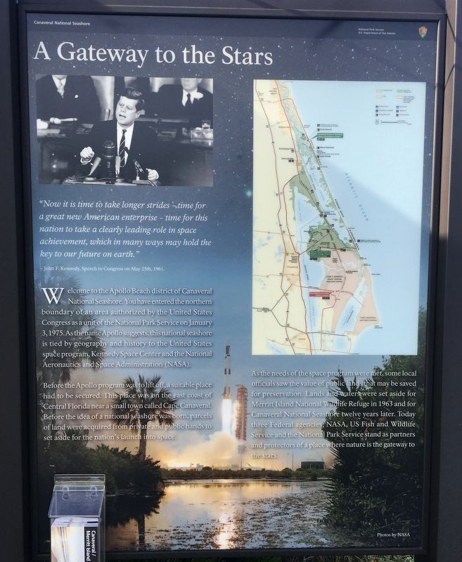 A Gateway to the Stars Marker image. Click for full size.