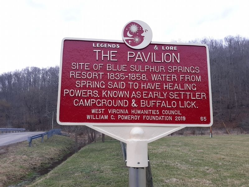 The Pavilion Marker image. Click for full size.