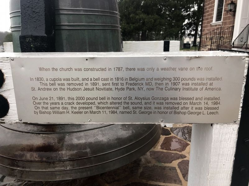 Conewago Chapel Bell Marker image. Click for full size.