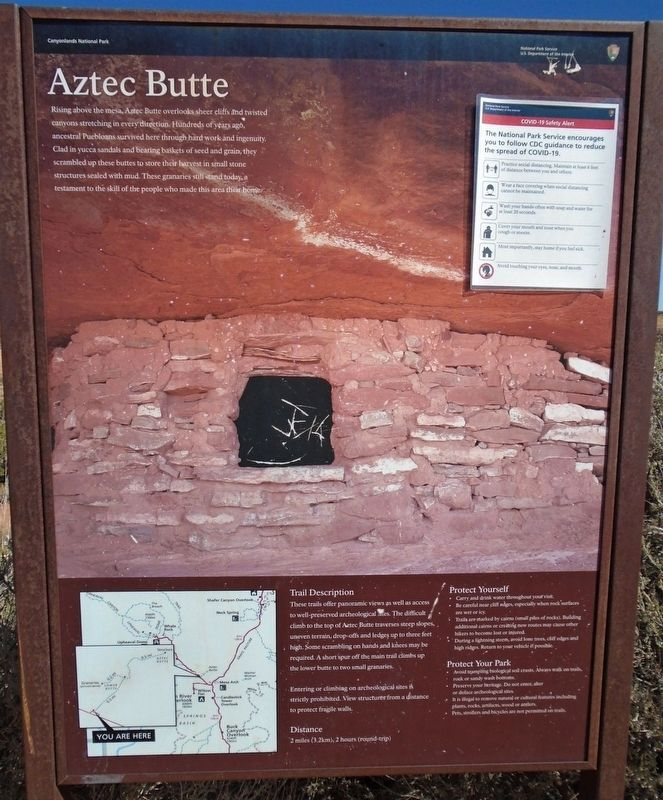 Aztec Butte Marker image. Click for full size.