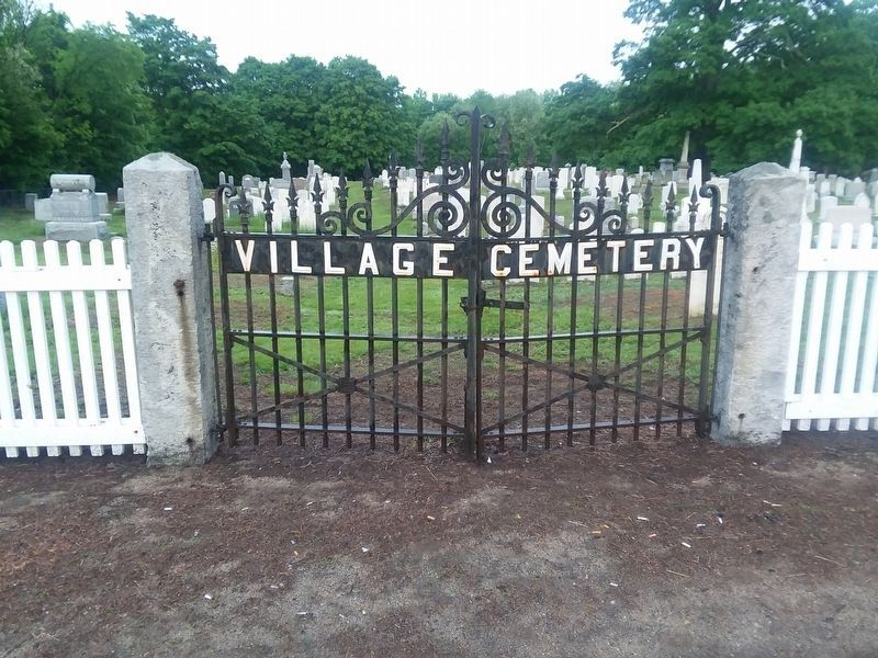 Chester Village Cemetery image. Click for full size.