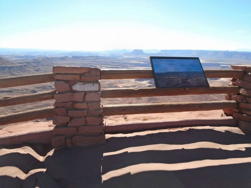 Green River Overlook Marker image. Click for full size.