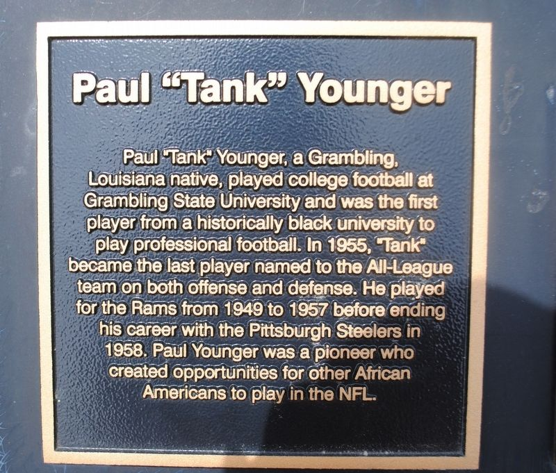 "Paul ""Tank"" Younger Marker image. Click for full size."